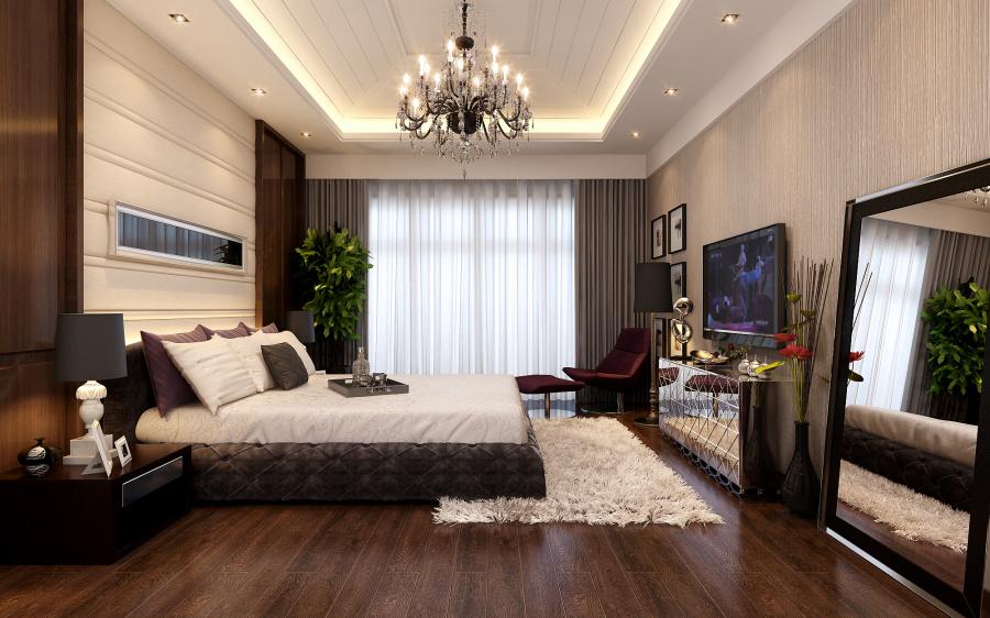 长江国际现代风格卧室